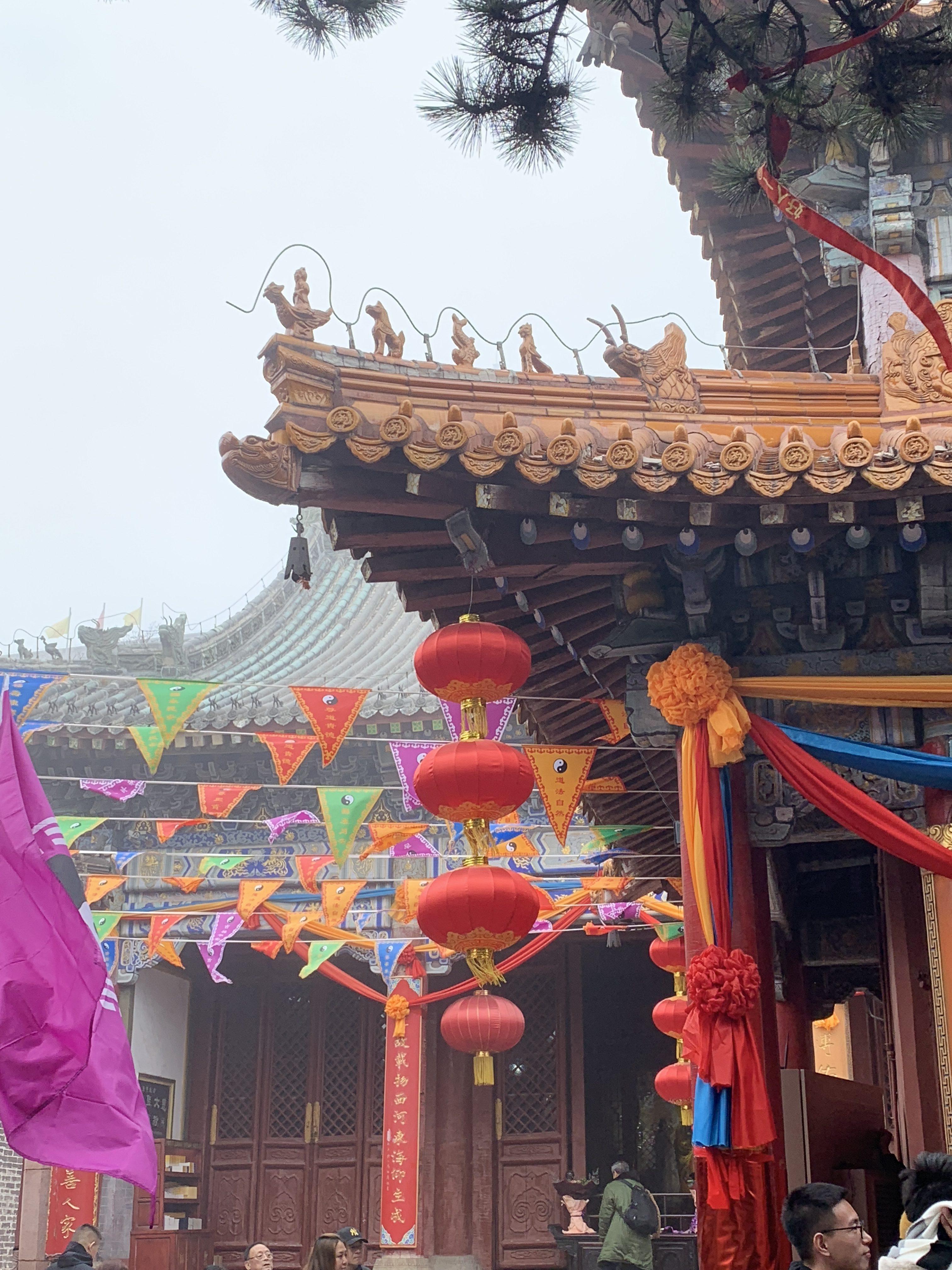 Shandong festival decor